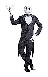 Disney Men's Jack Skellington Prestige Adult Costume