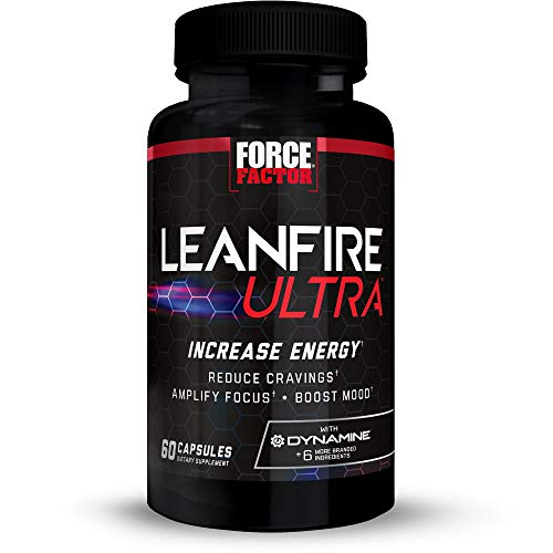 LeanFire Ultra Thermogenic Fat Burner, Energy Booster, and Appetite Suppressant Supplement with Green Tea Extract, L…