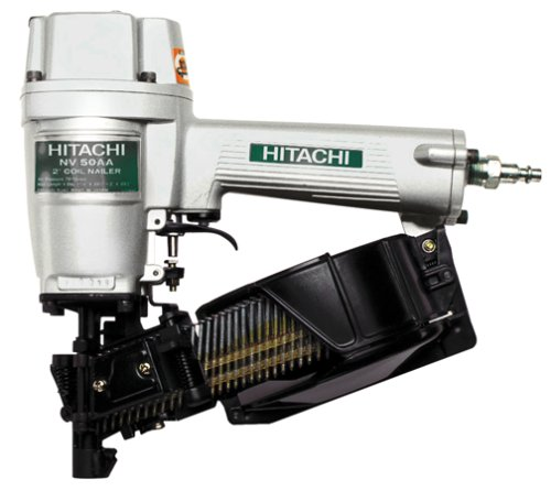 Hitachi NV50AA 1-1/4-Inch to 2-Inch Utility Siding Nailer