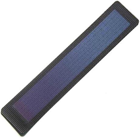 Nuzamas Flexibles Solarpanel, Mini-Solarzelle, Akku-Ladegerät, Solarenergie, 1,5 V, 0,7 W, 270 x 55 mm