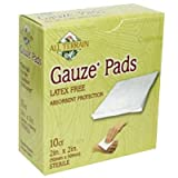All Terrain Latex Free Gauze Pad, 2 x 2 inch - 10 per pack - 6 packs per case.