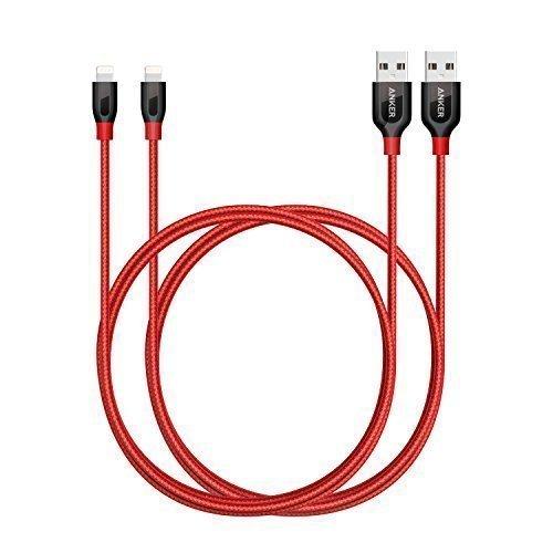 3 opinioni per [Confezione da 2] Anker PowerLine+ Cavo Lightning (90 cm)- Cavo Durevole per