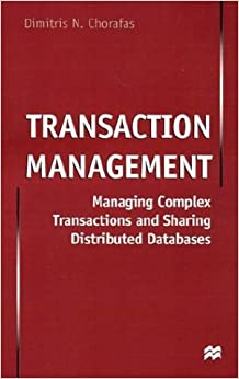 Book Transaction Management: Managing Complex Transactions and Sharing Distributed Databases