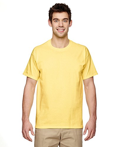 Gildan Adult Ultra Cotton 6 oz T-Shirt - CORNSILK - 5XL - (Style # G200 - Original - Ounce 6 Corn