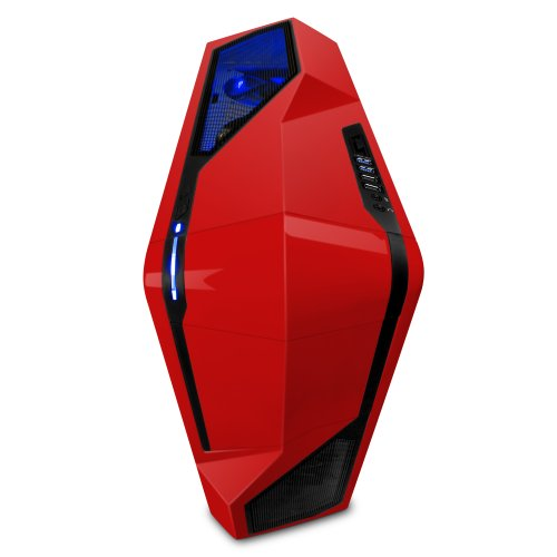 NZXT Phantom 410 Mid Tower Computer Case, Red