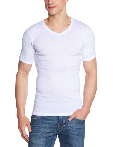 HERMKO 16488 3er Pack Herren Business Shirt mit V-Neck aus Baumwolle    Modal From HERMKO 9f65915730