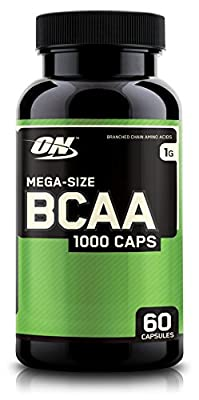 Optimum Nutrition BCAA Capsules, 1000mg, 60 Count