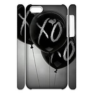 YUAHS(TM) DIY 3D Phone Case for Iphone 5C with The Weeknd XO YAS147978