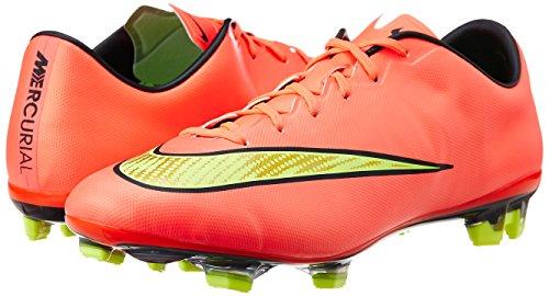 Nike Hombre Mercurial fútbol II Pink Zapatillas Veloce de para FG Fluo Yellow rrdOx8qR