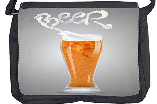 Borsa Tracolla Nostalgico Alcool Retro Birra di frumento Stampato