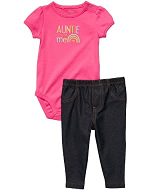 Baby Girls' Cute & Comfy Set