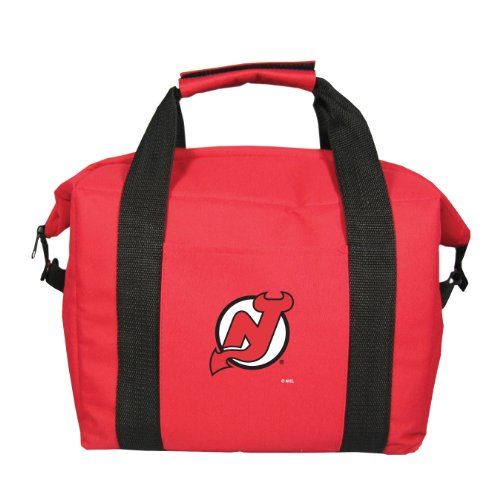 fan products of NHL New Jersey Devils Soft Sided 12-Pack Cooler Bag