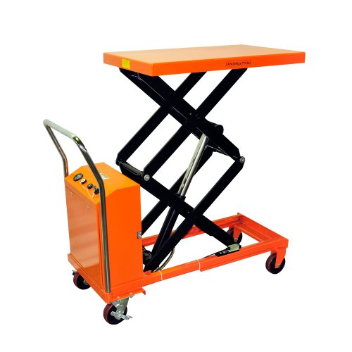 Bolton-Tools-New-Hydraulic-Key-Operated-Hand-Electric-Double-Scissor-Lift-Table-Cart-Truck-770-LB-of-Capacity-512-Max-Height-Model-ETF35