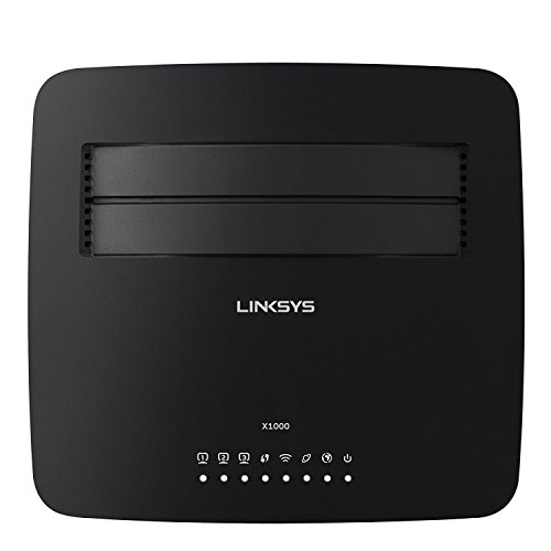 Linksys X1000 Wireless-N ADSL2+ Modem Router - Wireless Router - (Linksys Wireless Router Firewall)