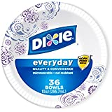 Dixie Heavy Duty Paper Bowls, 36 Count, 10 Ounce (Pack of 4)