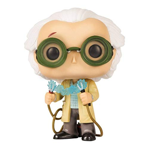 October 2015 Time Travel Exclusive Funko Pop #236 Back To The Future Dr. Emmet Brown Figurine -