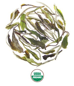 Rishi Tea Organic White Peony, 1 Pound