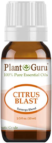 Citrus Blast Essential Oil Blend 10 ml 100% Pure, Undiluted, Therapeutic Grade. Relaxation, Boost Mood, Uplifting, Calming, Anxiety, Depression, Stress Aromatherapy, Diffuser. ()