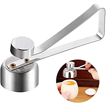 Amazon Com Egg Topper Cutter Stainless Steel Egg Opener