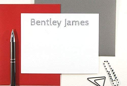 Amazon Com Mens Personalized Stationery Set Gifts For Him Set Of