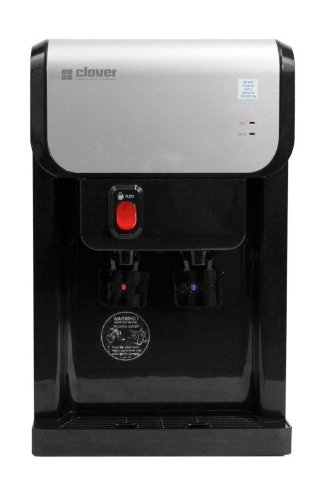 - Clover D1-K Hot and Cold Countertop Bottleless Water Cooler