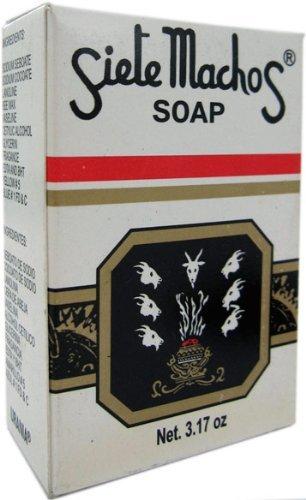 Siete Machos Soap 3.17 oz. (90g)