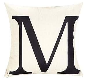 Patterns Print Throw Pillow Cover Sham Case LivebyCare Cushion Covers Linen Cotton Zipper Pillowslip Pillowcase For Adults Senior Men Women Bedroom