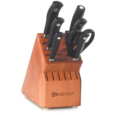 Wusthof 8518Grand Prix II 8-Piece Knife Set with Block