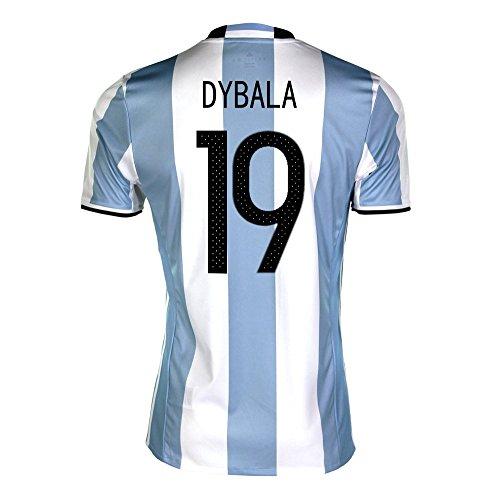 アンペア内訳浸すDybala #19 Argentina Home Soccer Jersey Copa America Centenario 2016/サッカーユニフォーム アルゼンチン ホーム用 ディバラ 背番号19