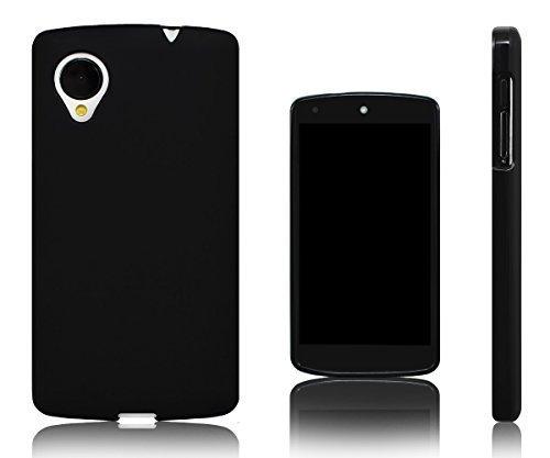 Xcessor Vapour Flexible TPU Gel Case For LG Nexus 5. Black (Nexus 5 Bumper Case Black)