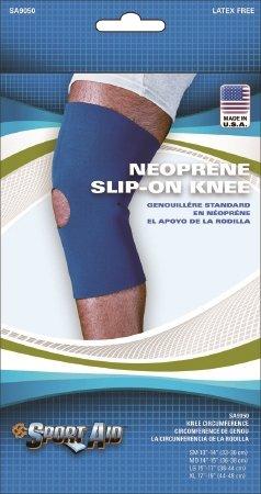 Scott Specialties Sport-Aid Knee Sleeve - SA9050 BLU MDEA - Medium, 1 Each / Each