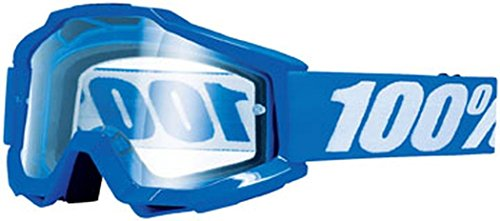 100% Motorcycle Riding Goggle Accuri OTG Reflex Blue Clear Lens 50204-002-02 ()