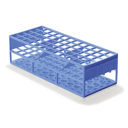 Laboratory Test Tube Racks for 17mm Test Tubes, Blue