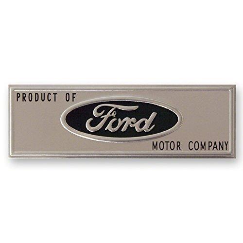 Goodmark Door Sill Plate Emblem FORD MUSTANG 1964-1966 Mustang Door Sill Plates