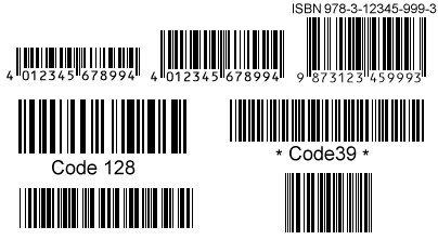 schriftarten barcode