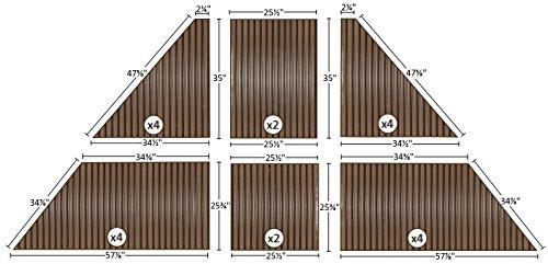 7mm Polycarbonate Roof Panel kit for Gazebo - 10x12 ...
