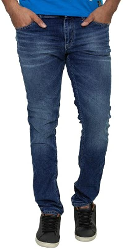 Jack & Jones męskie jeansy Ben Original Straight Leg Jeans: Odzież