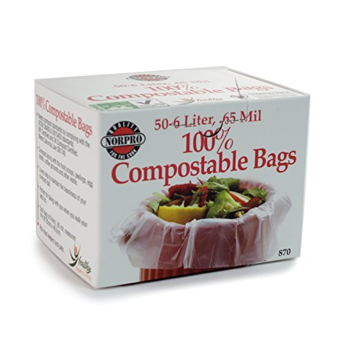 Norpro 100 Compostable Bags Count