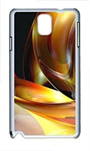 3D Abstract Designs Polycarbonate Hard Case Cover for Iphone 5/5S White