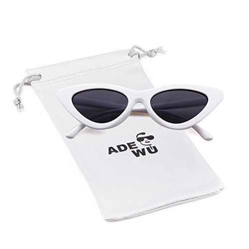 9046a99b9dd0 ADEWU Cat Eye Sunglasses Clout Goggles for Girls Women, Vintage Style Retro Kurt  Cobain Outdoor Glasses - Buy Online in UAE. | Clothing Products in the UAE  ...