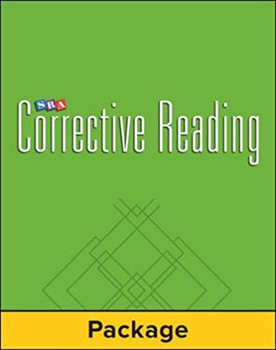 corrective reading decoding level c student workbook pack of 5 rh amazon com SRA Logo McGraw-Hill My Math Series