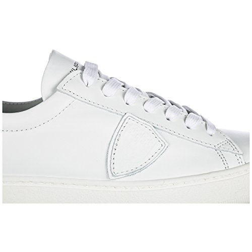 Donna Pelle Bianco Philippe Madeline Nuove Scarpe Sneakers Model in qwOBxA6f
