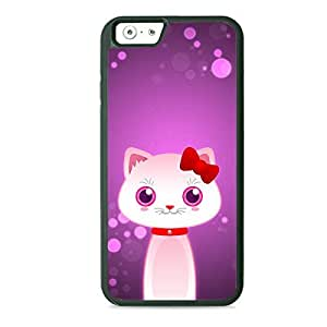 Case Fun Case Fun Kitty Cat by DevilleART TPU Rubber Back Case Cover for Apple iPhone 6 4.7 inch