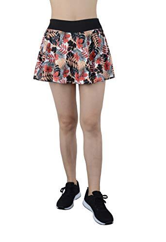 Women's Built-in Shorts Skirts Swim Fitness Pleated Active Running Tennis Golf Skorts/Leggings