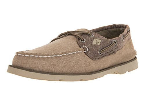 Sperry Top-Sider Mens Leeward Boat Shoe Khaki a1AnA2mOM