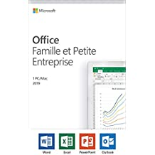 Microsoft Office Home and Business 2019, 1 Device, Windows 10 PC/Mac, French