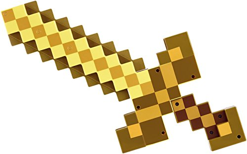 Minecraft Transforming Gold Sword/Pick (Minecraft Foam Iron Pickaxe)