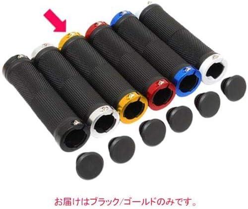 Palmy Sports(パルミースポーツ) ダブルリンググリップ ショートタイプ PS-G218 Φ22.2×95mm ブラック/ゴールド