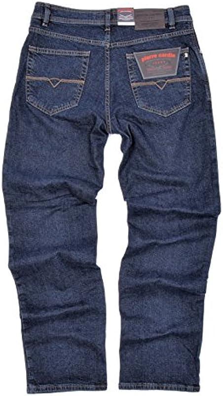"""Pierre Cardin Męskie rozciągliwe dżinsy Dijon 3231 161/02"""" Blue Black Comfort Fit: Odzież"""