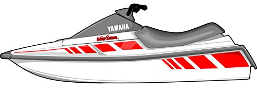 Exotic Signs Yamaha Wave Runner 1987-1993 LX Graphic Kit - EY0001WR (021 Yellow)